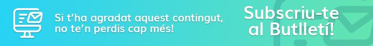 Subscriu-te al butlleti CampingsCat